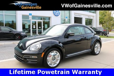 Certified Pre-Owned 2017 Volkswagen Beetle 1.8T SEL